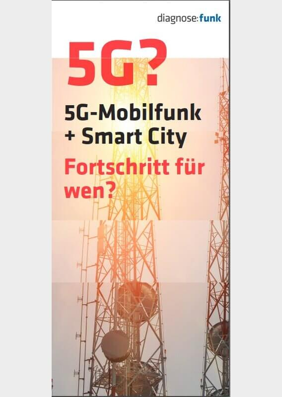 Flyer 5G Mobilfunk+Smart City Image
