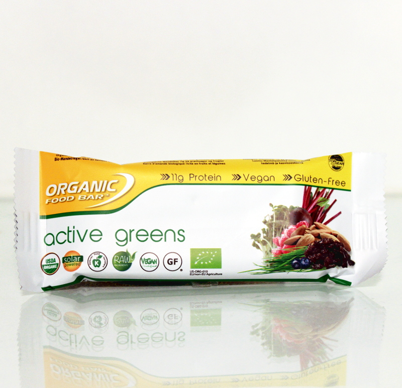 Active Greens-Riegel Bio, Roh 70g
