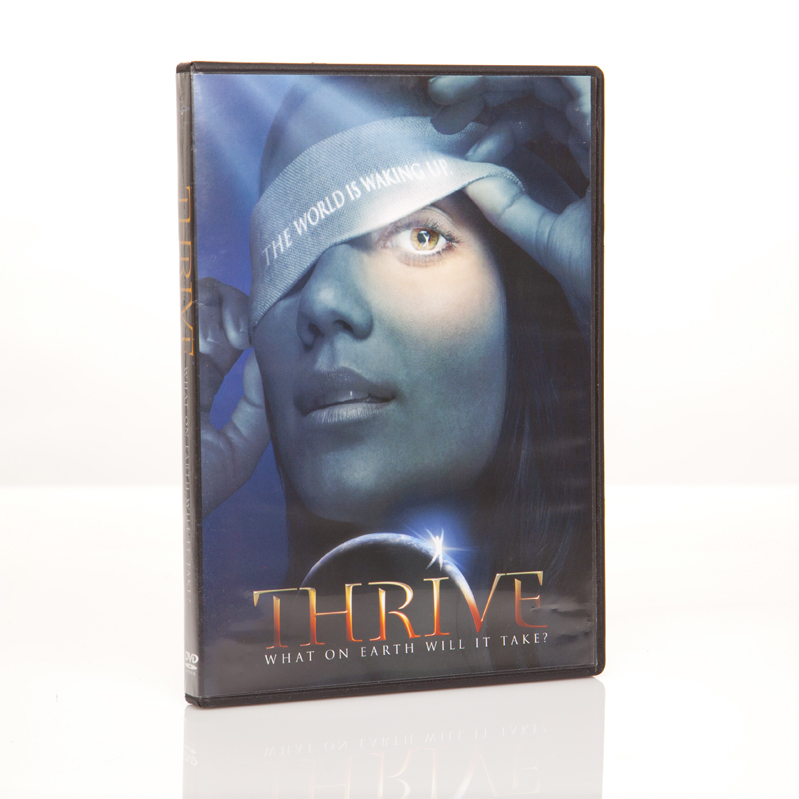 THRIVE - What on earth will it take - DVD Image